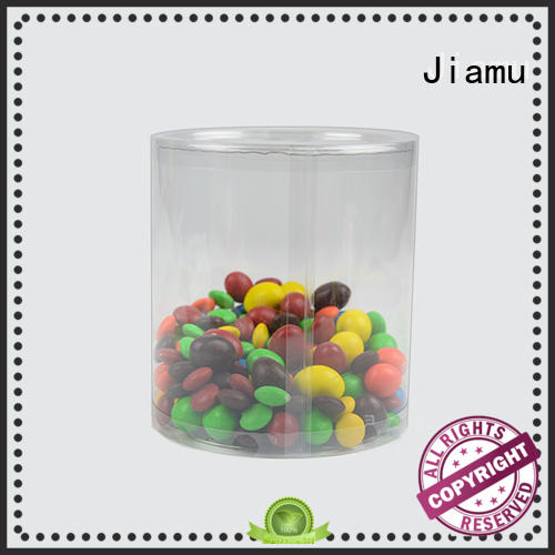 Jiamu excellent plastic cylinder packaging factory price for cosmetics